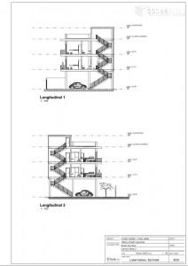 longitudinal sections